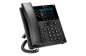 polycom vvx 350 angled right
