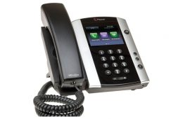 polycom vvx 501 angled right