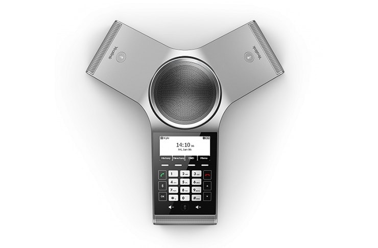 yealink cp920 conference phone top view